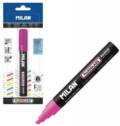 Blister fluoglass punta biselada 2 - 4 mm rosa