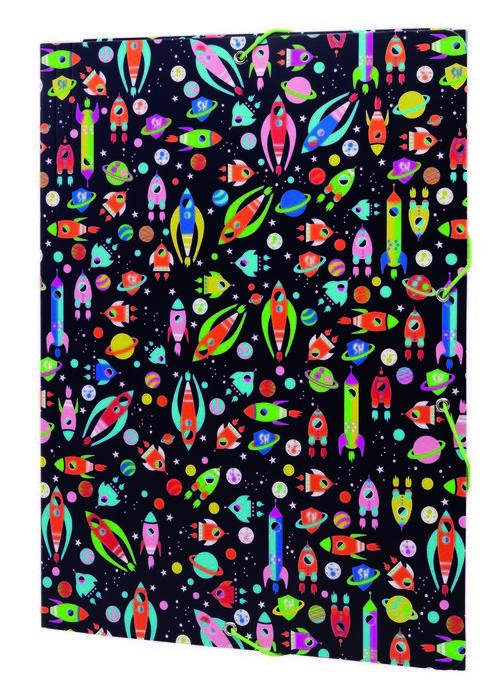 Carpeta de gomas ligeras sh space 3