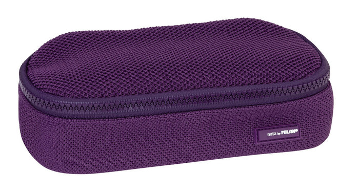 Portatodo ovalado mini knit deep purple