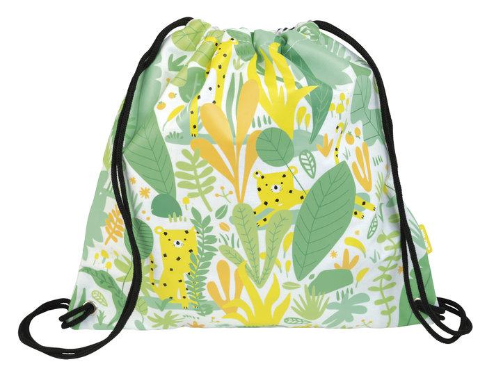 Bolsa tiras hide & seek, verde y amarilla