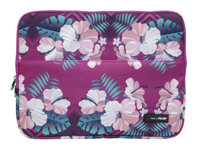 Funda para portatil 13 hibiscus