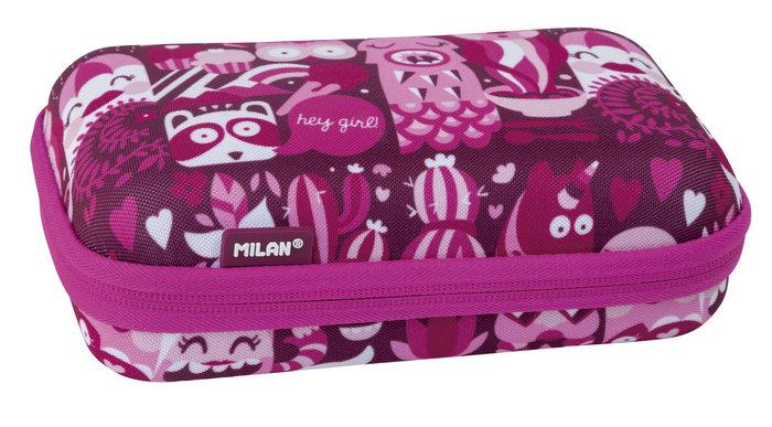 Kit semirsemirrigido 2 estuches con contenido hey girl rosa