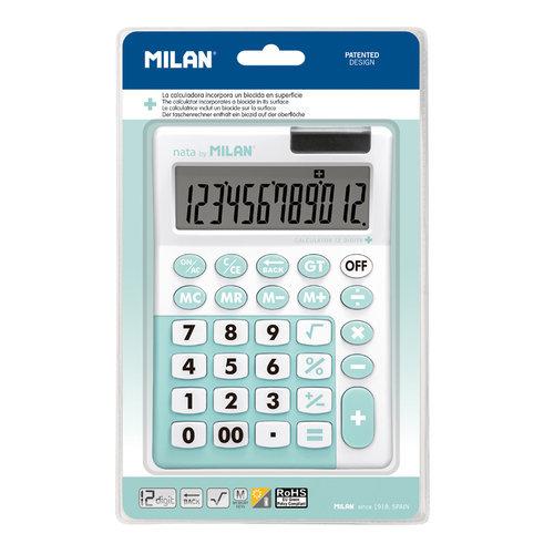 Blister 1 calculadora 12 digitos turquesa edicion +