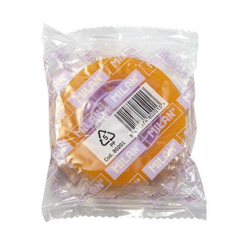 Cinta adhesiva 12mmx33m amarillo transparente nuevo formato