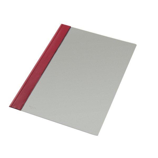 Dossier fastener folio rojo