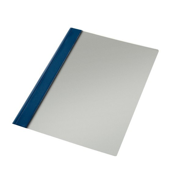 Dossier fastener folio azul marino
