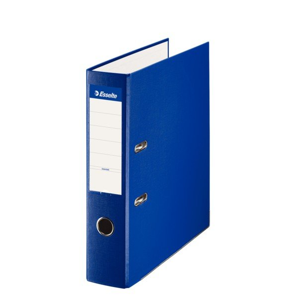 Archivador folio plastico 70mm azul