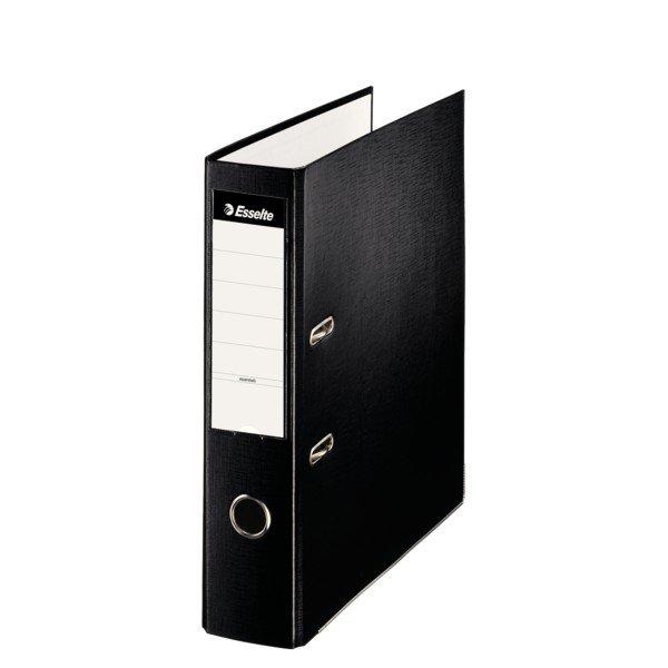 Archivador folio plastico 70mm negro