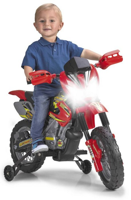 Moto cross electrica 400f 6v feber