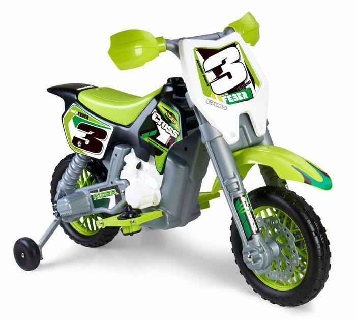 Moto electrica rider cross 6v feber