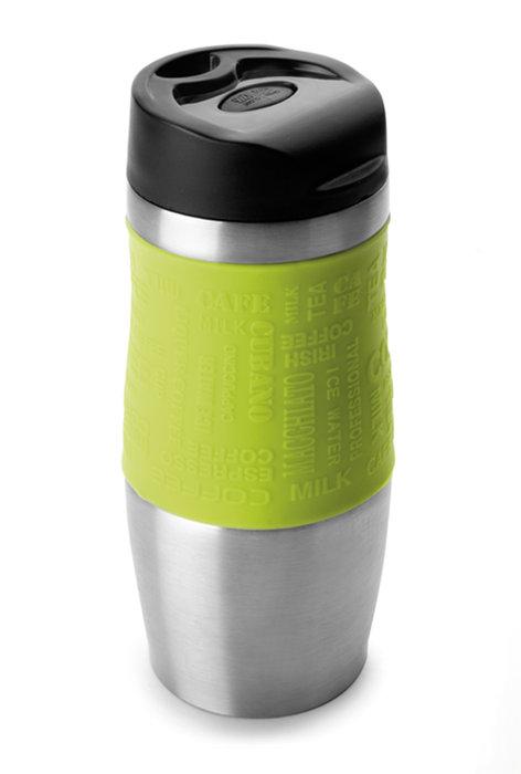 Vaso termico 400ml acero inoxidable verde