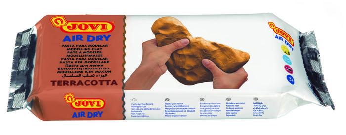 Pasta modelar jovi 500 grs terracota