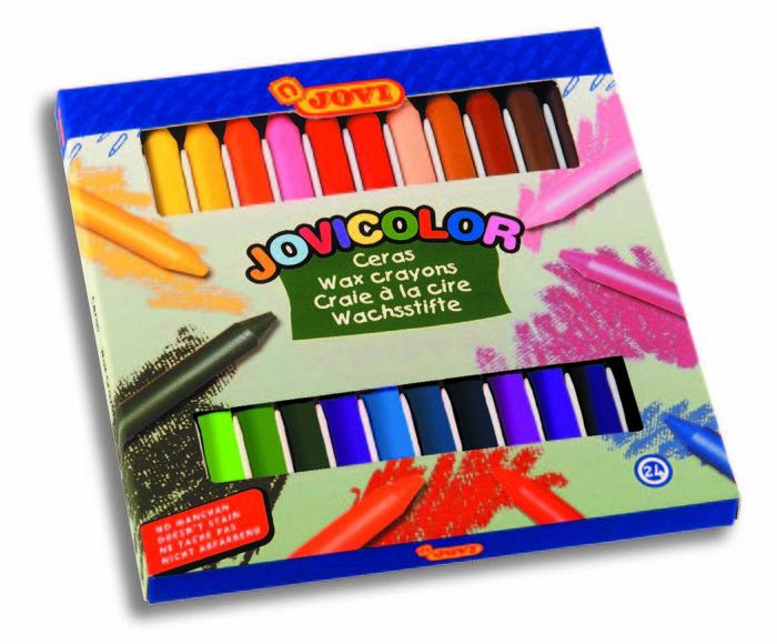 Cera jovicolor 980 c/24 colores