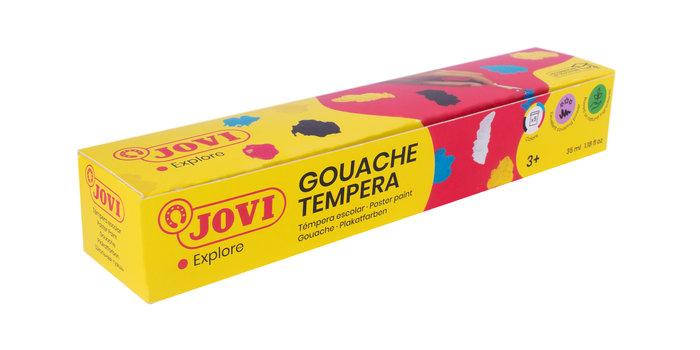 Tempera jovi 505 c/5 colores surtidos