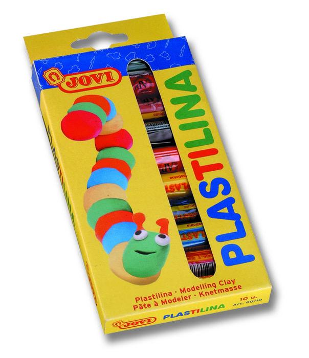 Plastilina jovi 90 c/10 colores surtidos