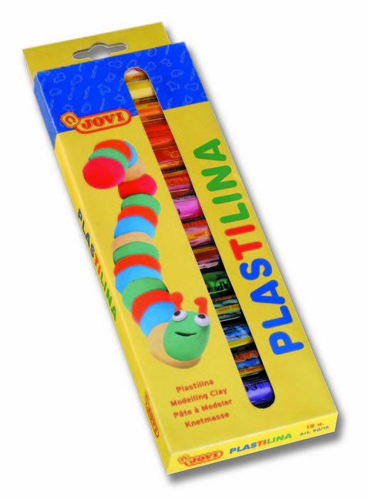 Plastilina jovi 90/15 c/15 barras col/s