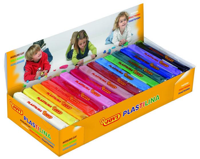 Plastilina jovi 71 150g colores surtidos
