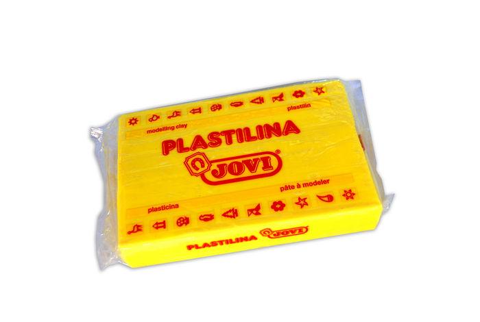 Plastilina jovi 72 amarillo claro