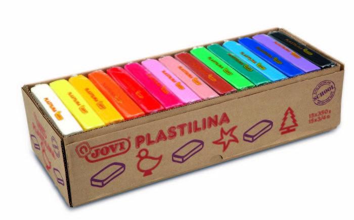 Plastilina jovi 72s colores surtidos grande