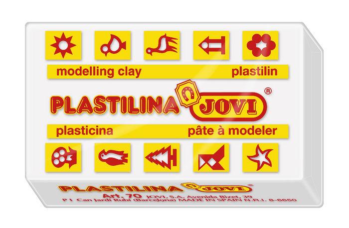 Plastilina jovi 70 blanco