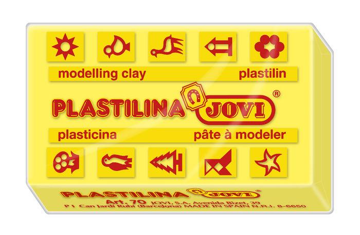 Plastilina jovi 70 amarillo claro