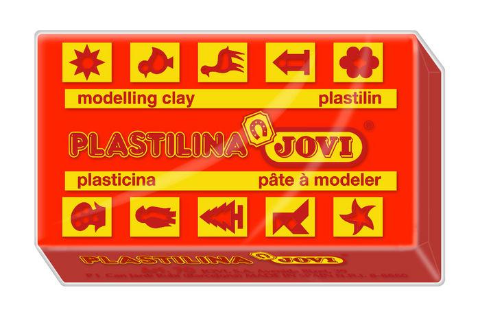 Plastilina jovi 70 rojo