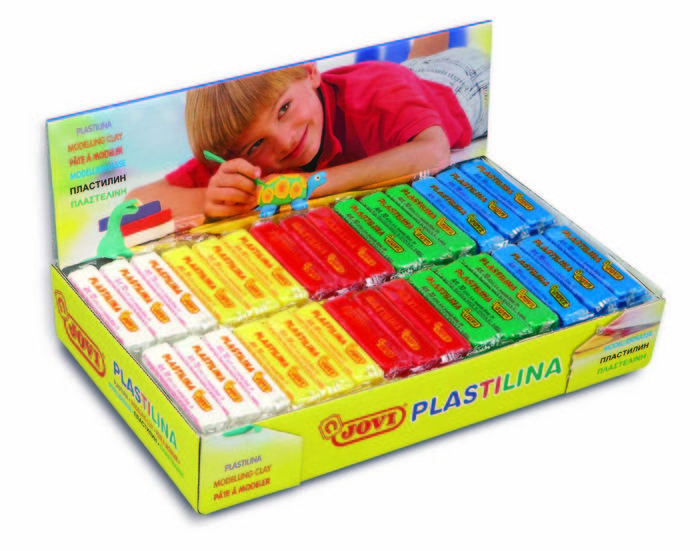 Plastilina jovi 70 50g colores basicos