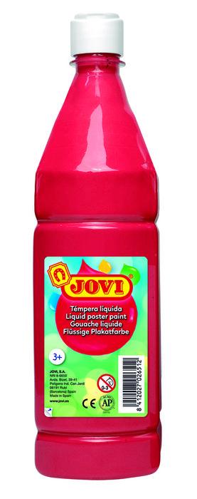 Tempera liquida jovi 511 1000cc bermellon (rojo)