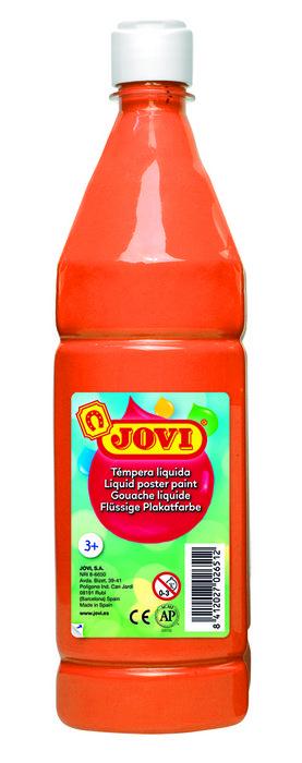 Tempera liquida jovi 511 1000cc naranja