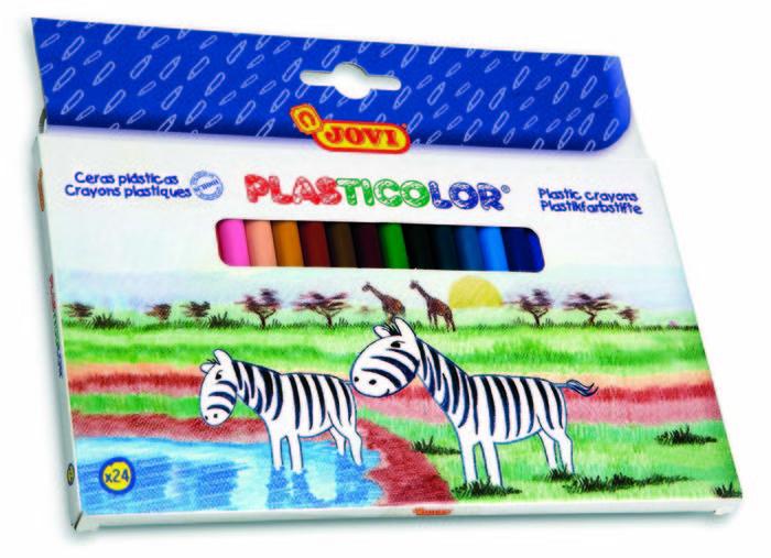 Cera jovi plasticolor 925 926 c/26 colores surt