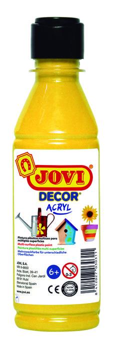 Pintura jovidecor 250ml amarillo