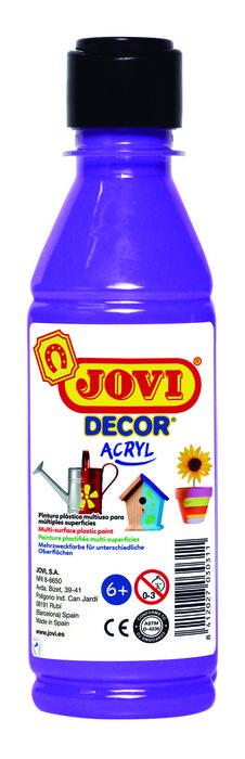 Pintura jovidecor 250ml violeta