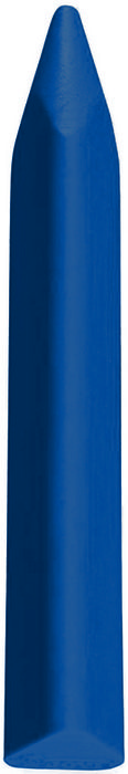 Cera triangular jovi triwax 12 ud azul oscuro