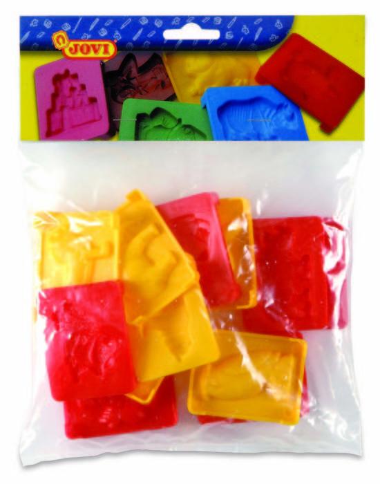 Moldes jovi figuras bolsa 12 piezas