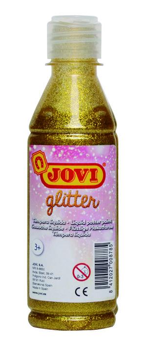 Glitter tempera jovi 250 mll oro