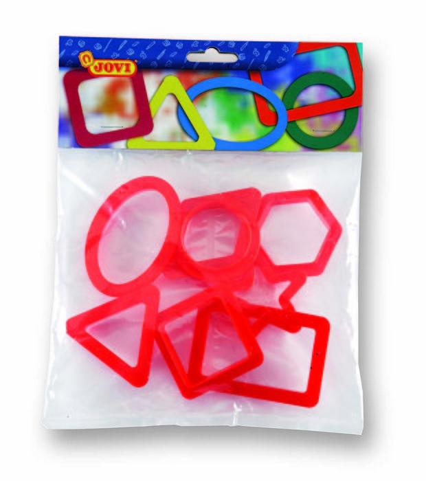 Jovi bolsa 8 moldes figuras geometricas