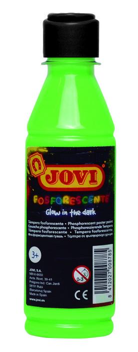 Fosforescente tempera jovi 250 ml verde