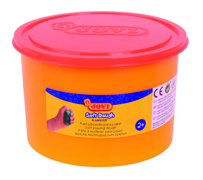 Blandiver jovi dough soft de 460 g naranja