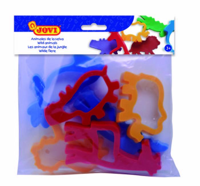 Jovi bolsa 6 moldes animales de jungla
