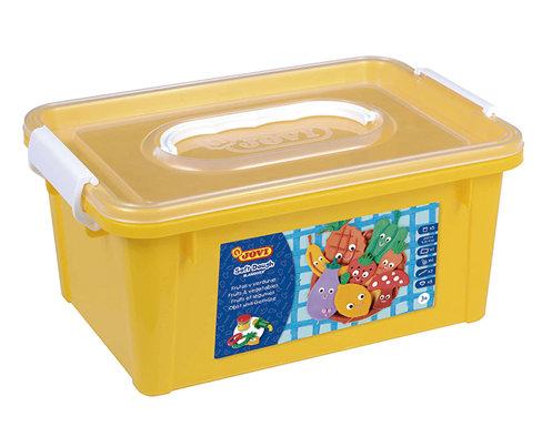 Baul pasta blandiver 476 5 colores basicos + moldes fruta