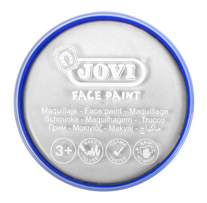Maquillaje jovi face paint 20 ml blanco 5 uds