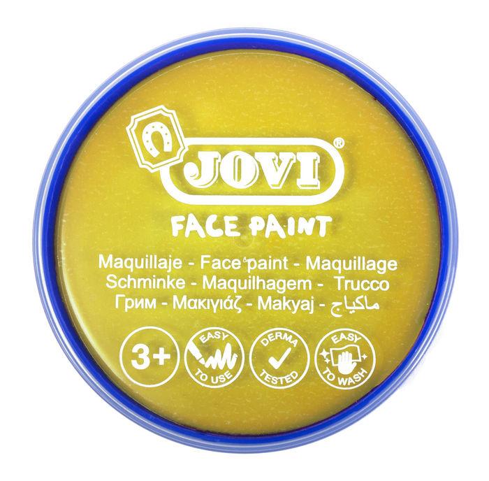 Maquillaje jovi face paint 20 ml amarillo 5 uds