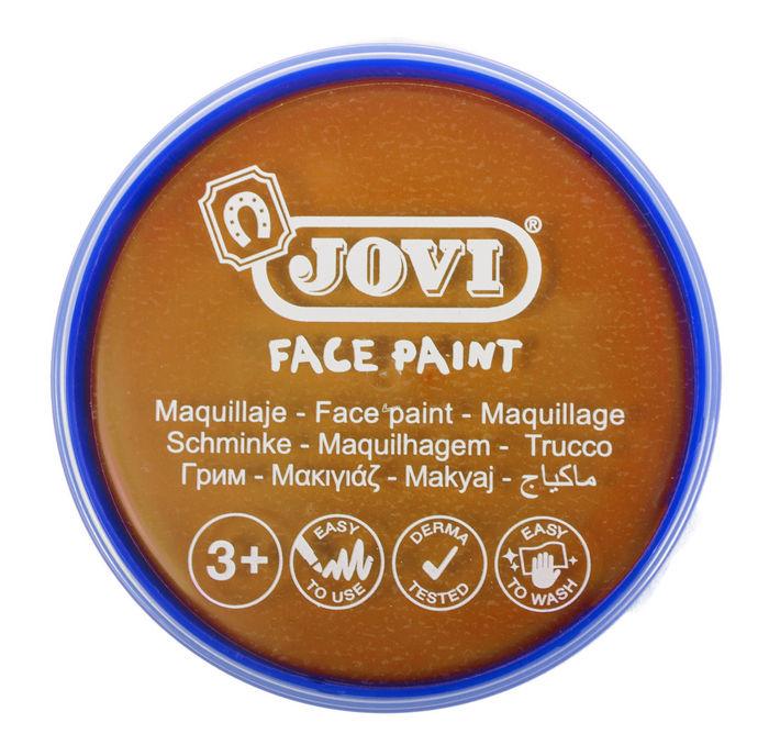 Maquillaje jovi face paint 20 ml naranja 5 uds