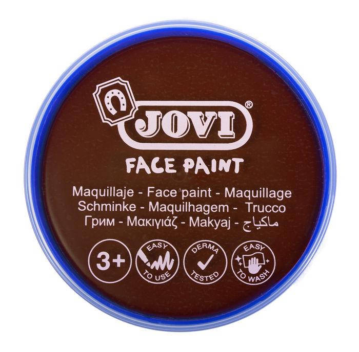 Maquillaje jovi face paint 20 ml marron 5 uds