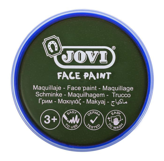 Maquillaje jovi face paint 20 ml verde 5 uds