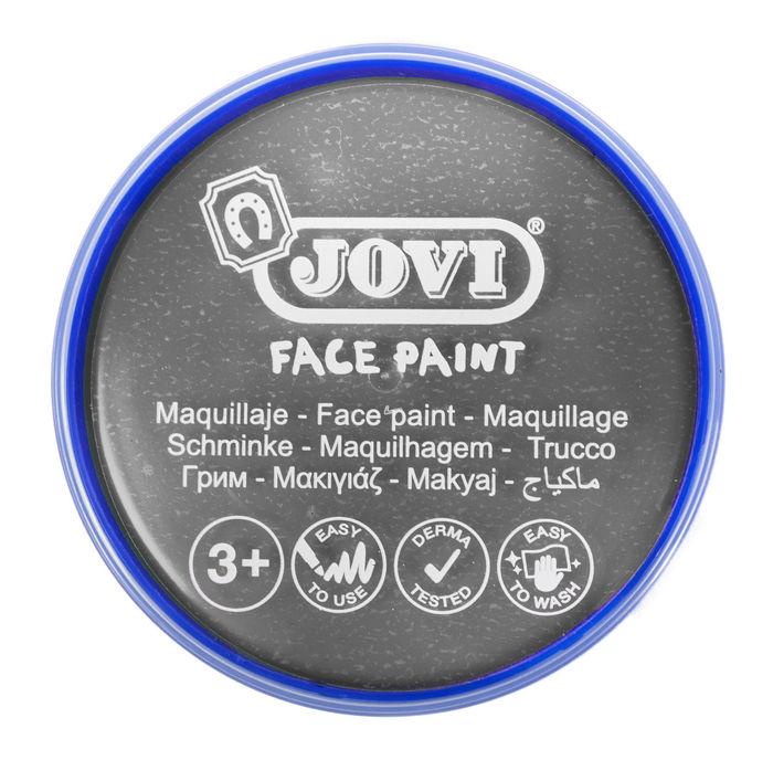 Maquillaje jovi face paint 20 ml plata 5 uds
