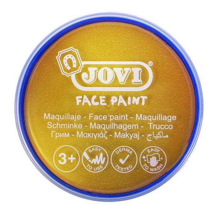 Maquillaje jovi face paint 20 ml oro 5 uds
