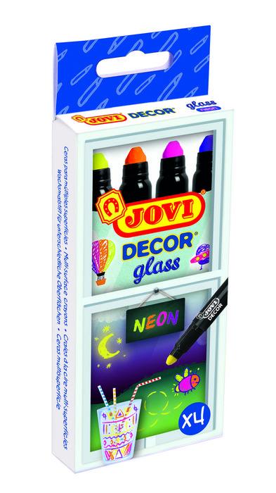 Cera jovidecor glass 4ud neon