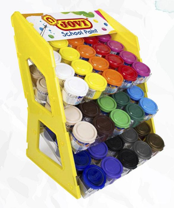 Expositor tempera jovi 20 estuches 503 colores surtidos