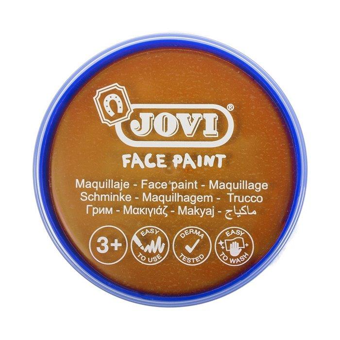 Maquillaje jovi face paint estuche 6 botes 8 ml naranja